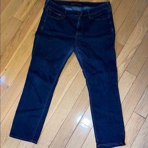 Express Dark Skinny Jeans